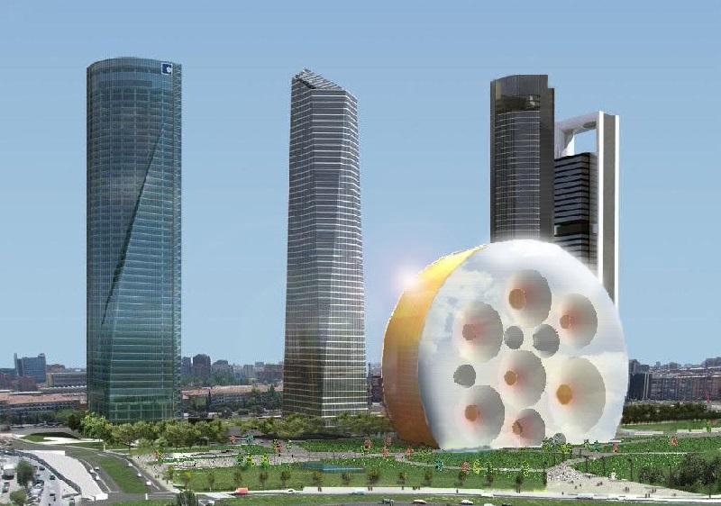 Cuatro torres - centro internacional de convenciones