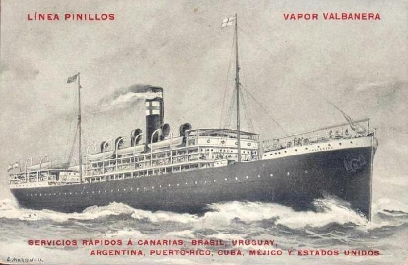 El naufragio del Valbanera - Barco
