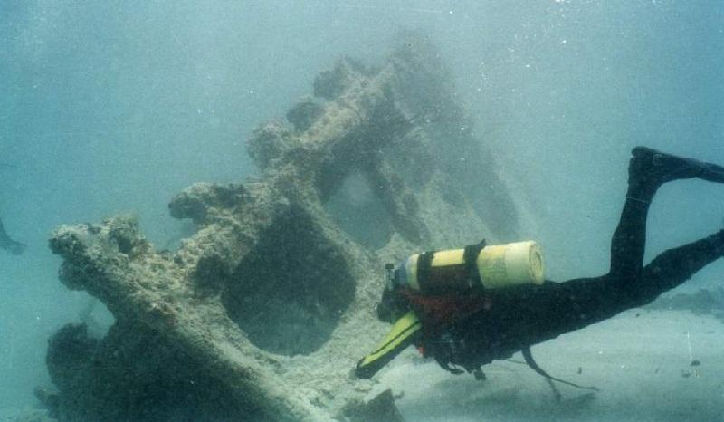 El naufragio del Valbanera - Pecio