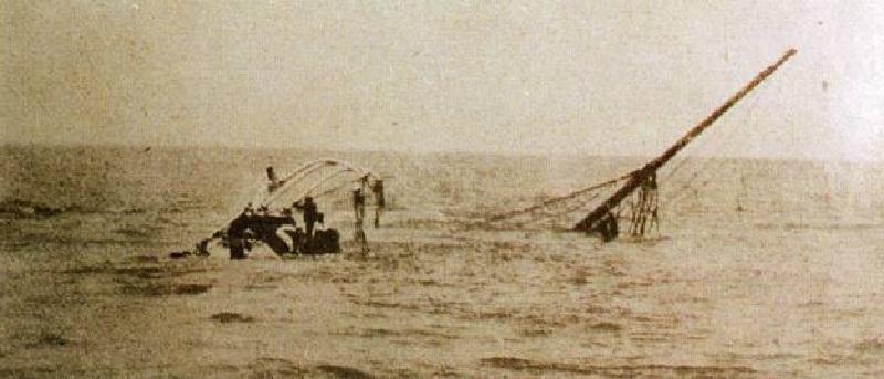 El naufragio del Valbanera - Restos naufragio