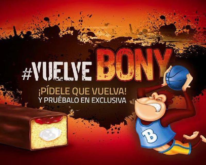 El regreso de Bony - vuelve Bony