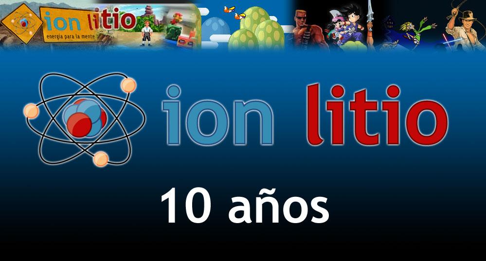 ion litio - 10 años