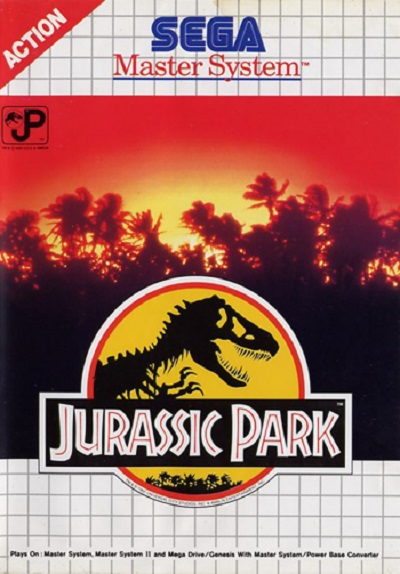 Jurassic Park Master System - Portada