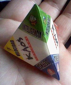 La pirámide de poder