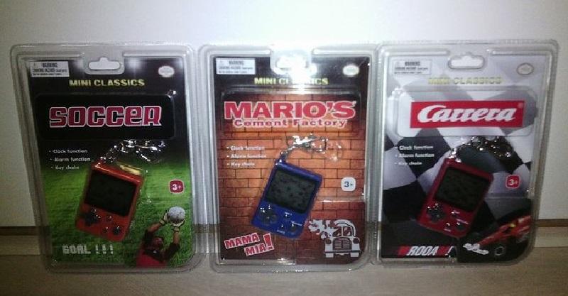 Nintendo Mini Classics - Envase