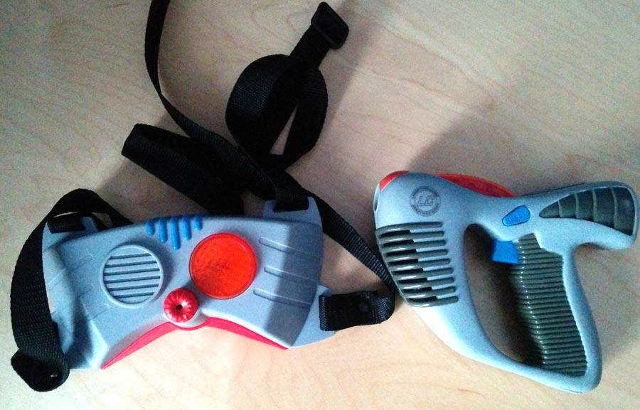 Laser Challenge - Receptor y pistola