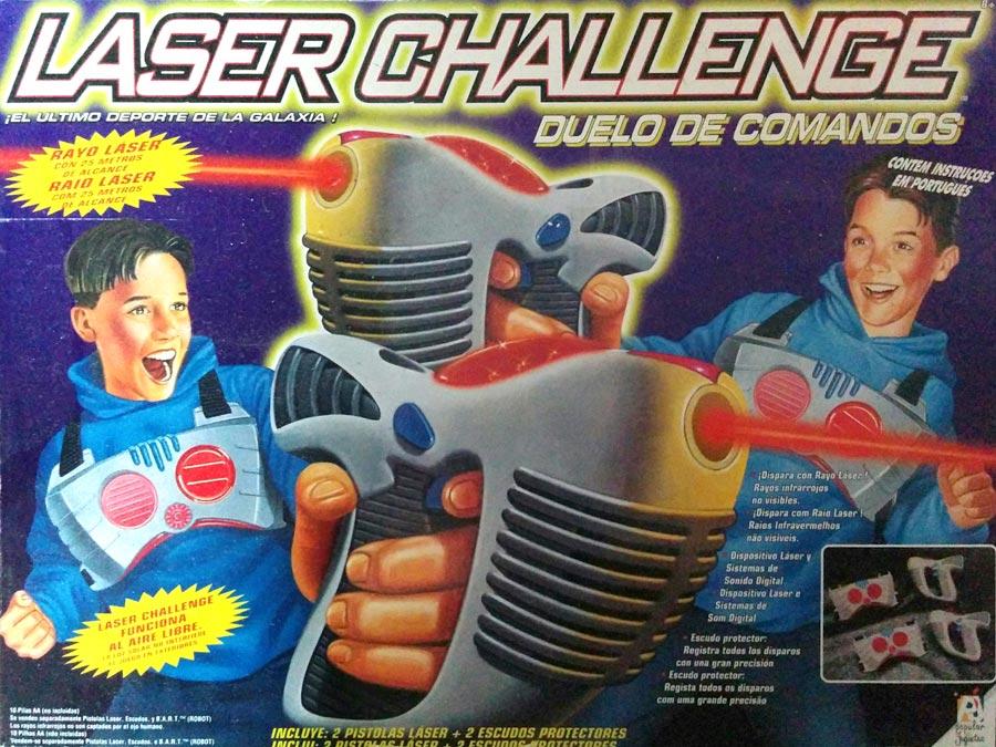 Laser Challenge - Caja