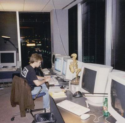 Carmack trabajando en Quake