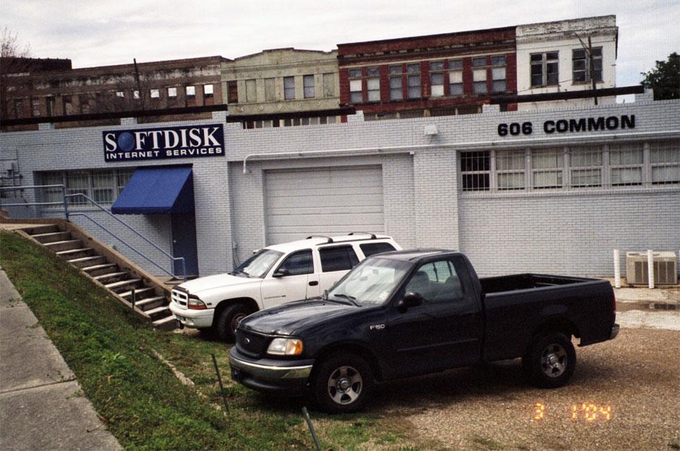 Las oficinas de Softdisk en Shreveport, Luisiana