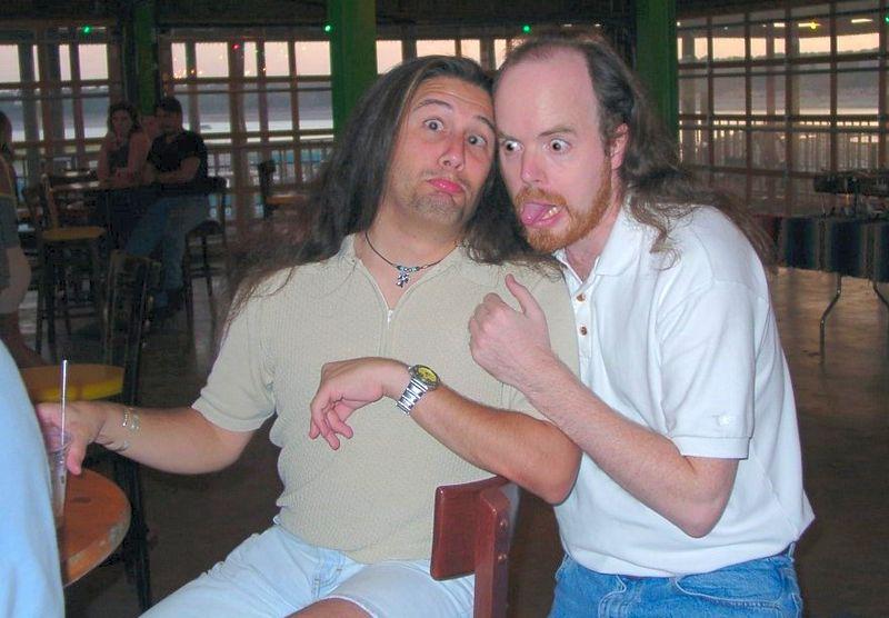 John Romero y Tom Hall