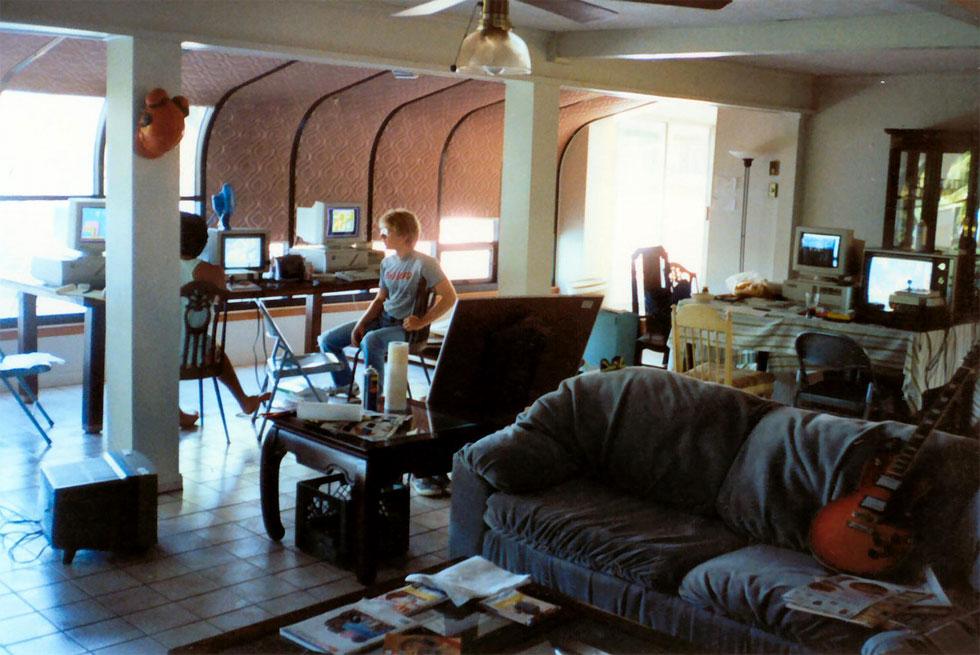 La casa en el lago de Shreveport, donde se engendró lo que luego sería id Software