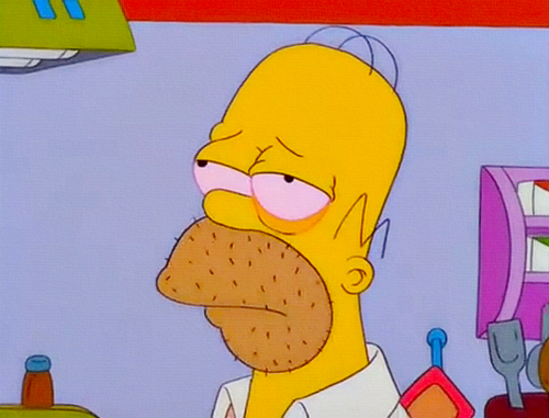 Homer borracho