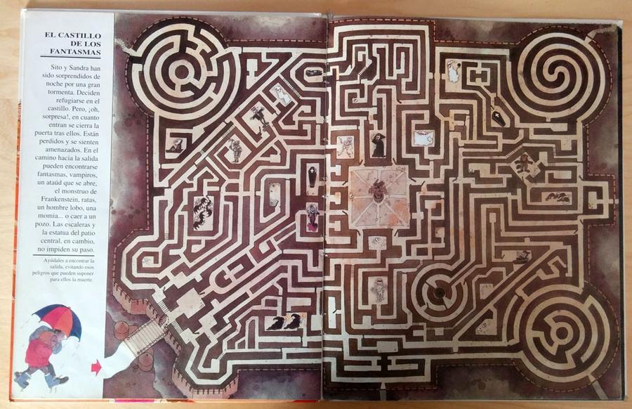 El gran libro de los laberintos - El castillo de los fantasmas