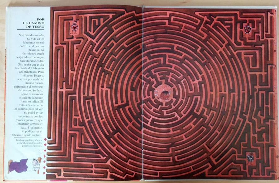 El gran libro de los laberintos - Por el camino de Teseo