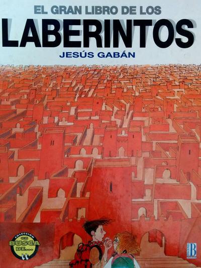 El gran libro de los laberintos - Portada