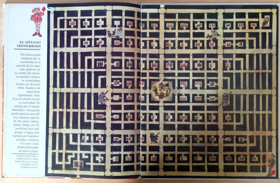 El gran libro de los laberintos - El sótano misterioso