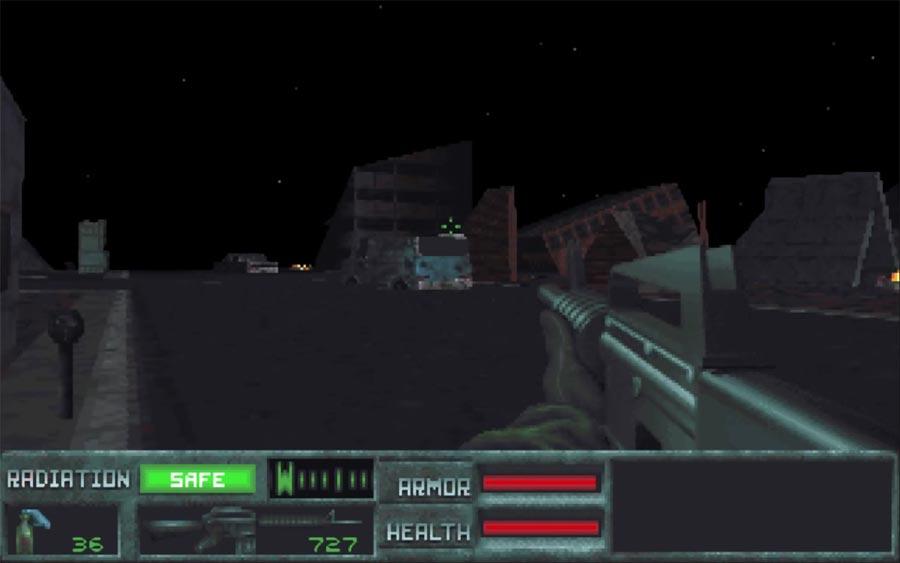 The Terminator: Future Shock - Escenarios vacíos