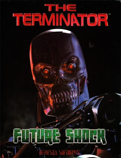 The Terminator: Future Shock - Portada