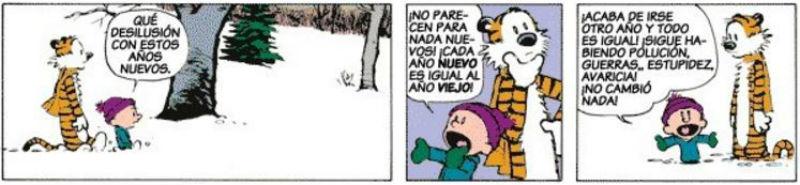 Mini Mundo - Calvin y Hobbes