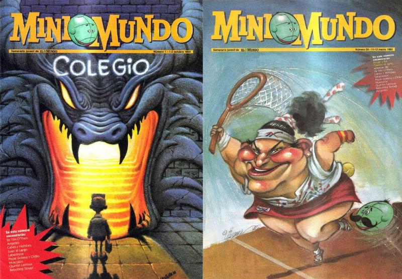 'Mini Mundo' el semanario juvenil de El Mundo
