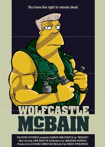 La pelicula de McBain - Cartel de cine