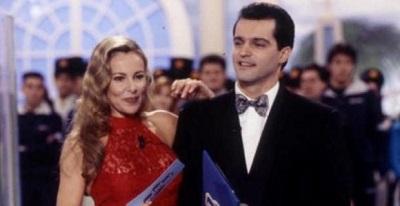 Los presentadores del programa: Ana Obregón y Ramón García (Fuente: quemovida.excite.es)
