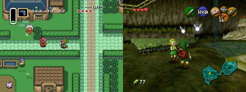 The Legend of Zelda: A Link to the Past | ion litio