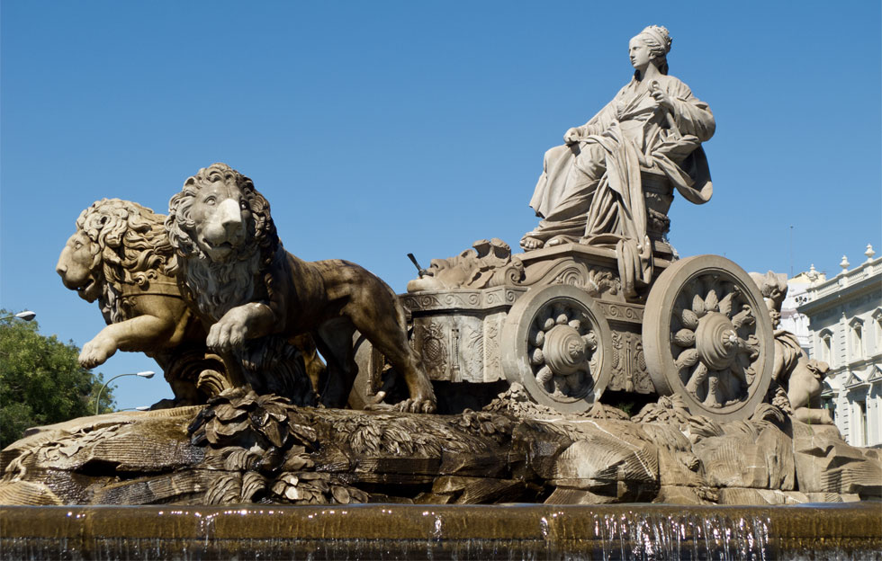 Madrid subterraneo - Estatua de la diosa Cibeles