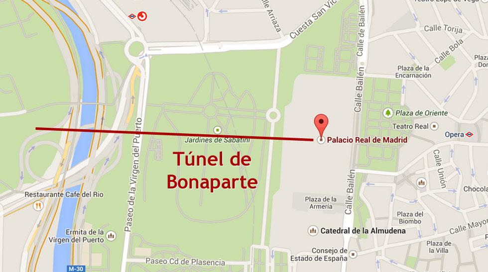 Madrid subterráneo - Túnel de Bonaparte