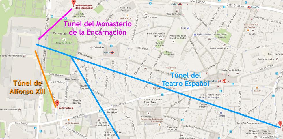 Madrid subterráneo - Tuneles del Palacio Real