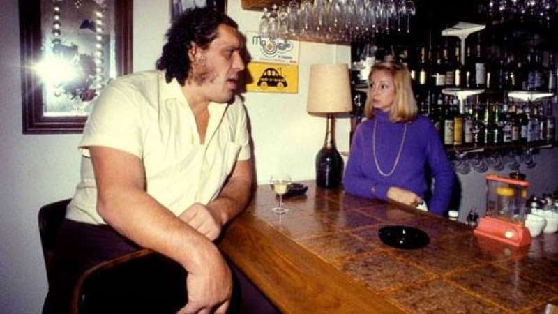 Grandes bebedores de la historia (II) André el gigante