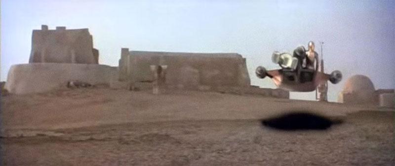Cambios Star Wars - Landspeeder (1977)