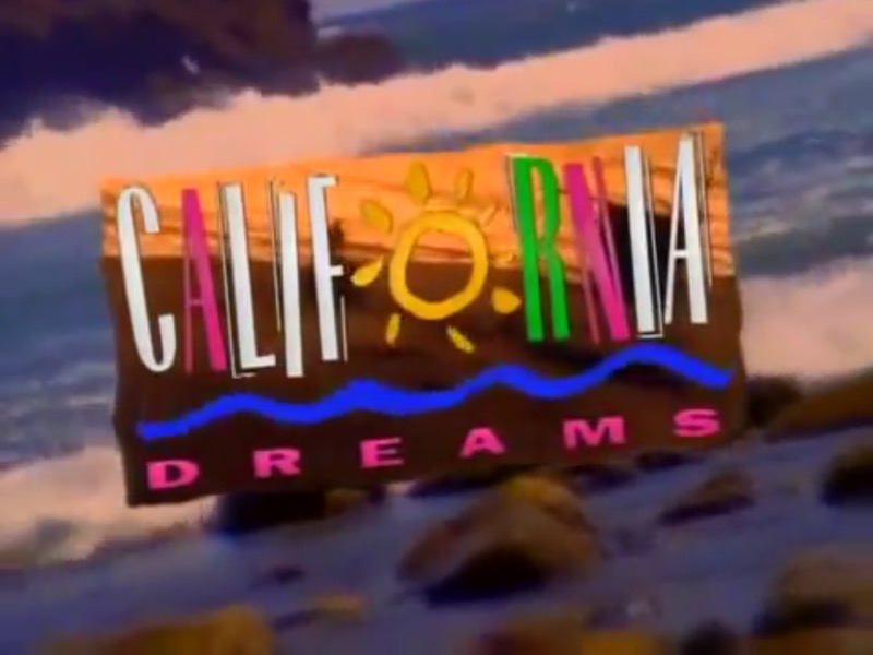 California Dreams - Cabecera