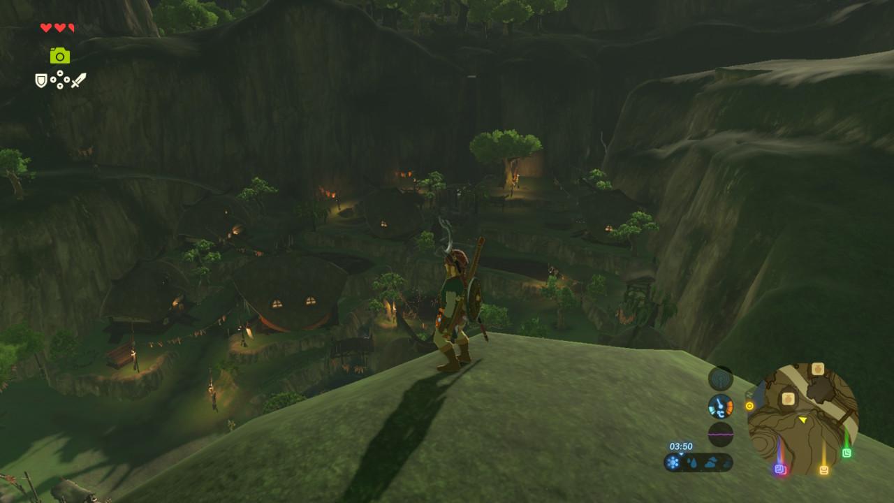 Zelda Breath of the Wild - Aldea Kakariko