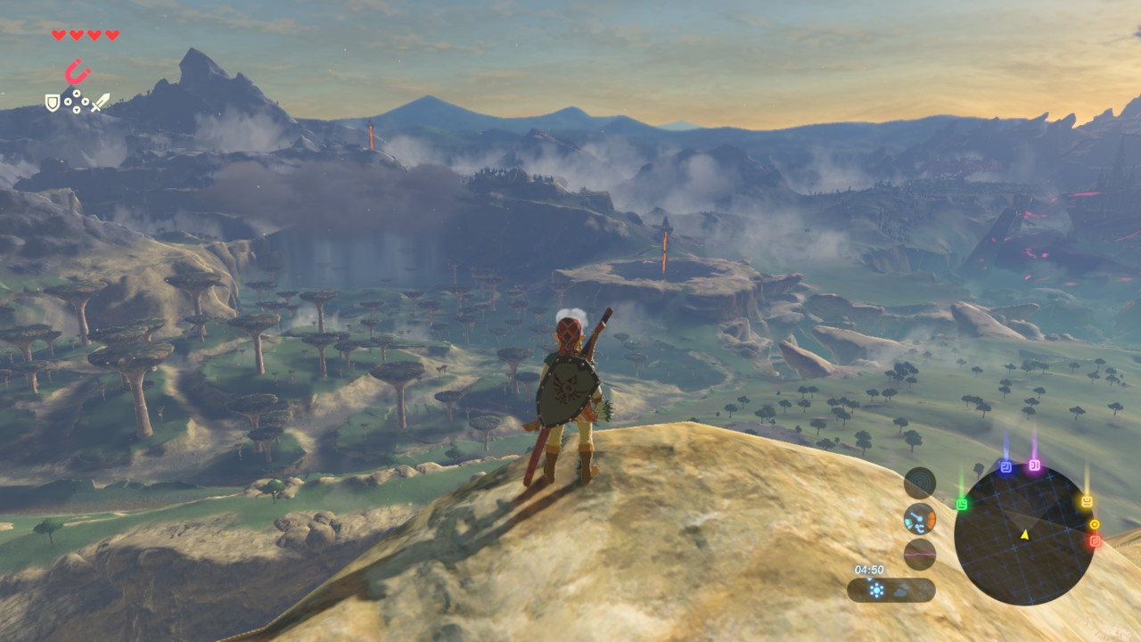 Zelda Breath of the Wild - Paisajes