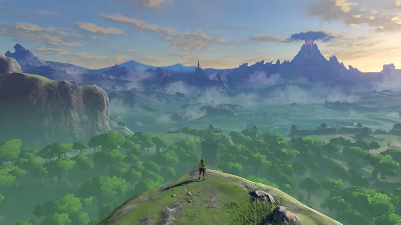 Zelda Breath of the Wild - Panorámica inicial