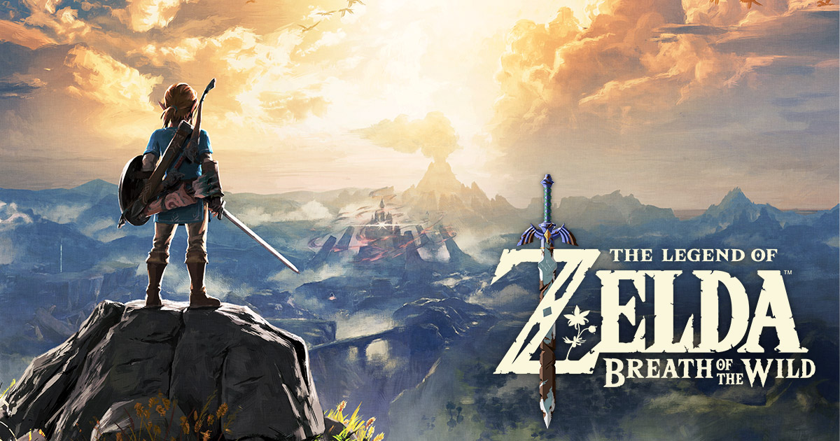 Zelda Breath of the Wild - Portada