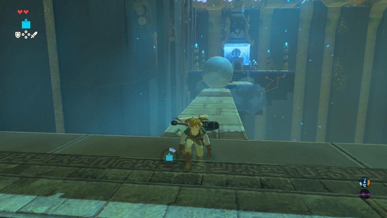 Zelda Breath of the Wild - Santuario