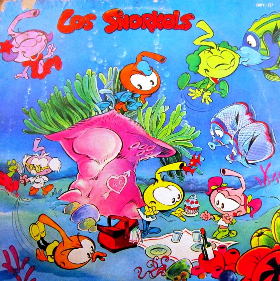 Los Snorkels - Portada
