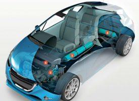 El coche propulsado por aire comprimido
