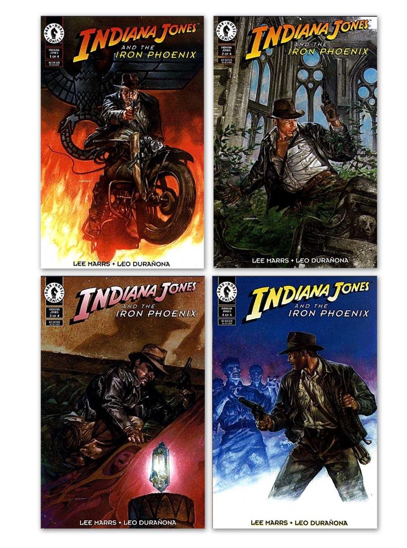 Indiana Jones and the Iron Phoenix - Dark Horse Comics