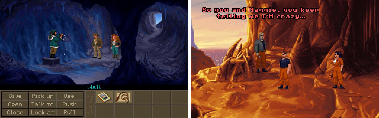 Fate of Atlantis vs The Dig