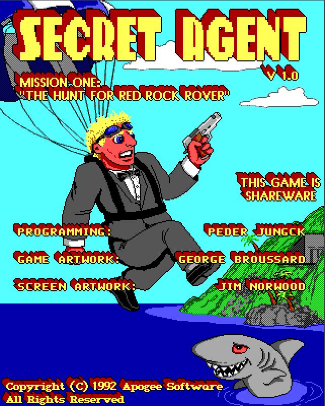 Secret Agent - Portada