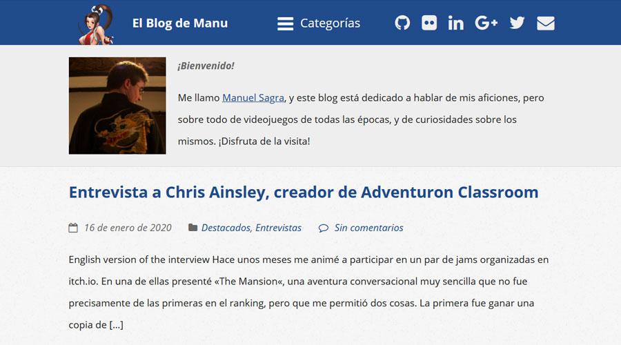 Bloggers - Blog de Manu
