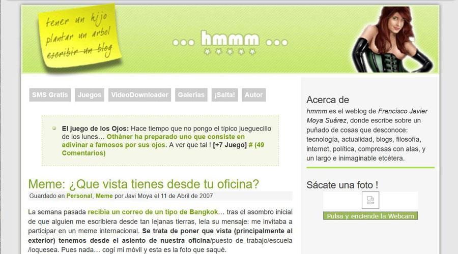 Bloggers - hmmm Javi Moya