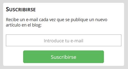 ion litio - Suscripción por e-mail