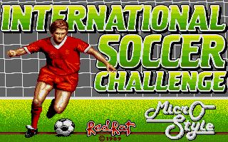 International Soccer Challenge - Pantalla de título